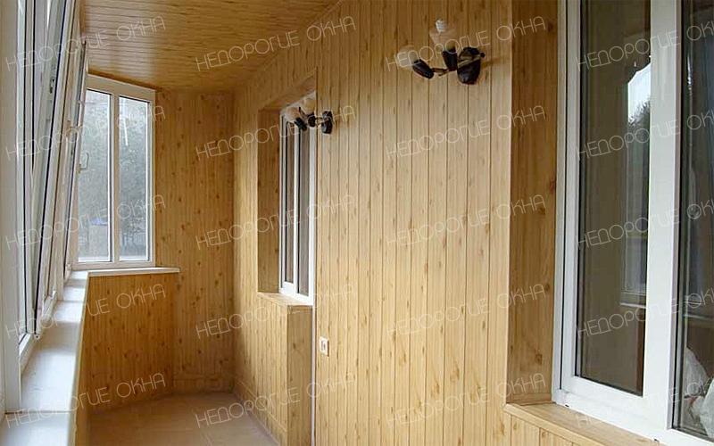 Отделка балконов и лоджий недорого в новосибирске.